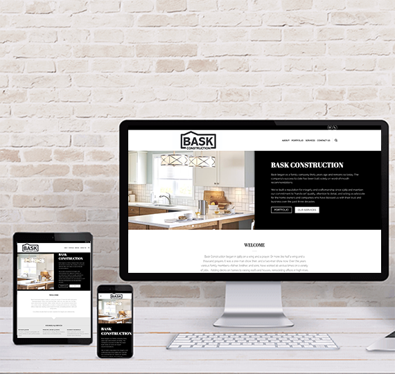 landing page responsive web design & development madison wi